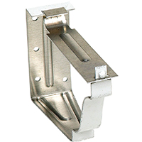 Amerimax 25022 Snap Lok Bracket, 5 in L, For Use With K Style Hanger
