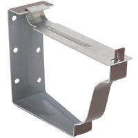Amerimax 2502219 Hanger Snap Lok Bracket, 5 in L, For Use With K Style Hanger