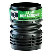 Amerimax ADP53302 Flexible Universal Pipe Coupling, 4 in