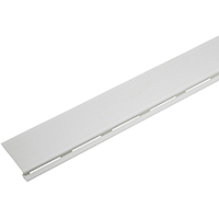 GUTTER COVER 4FT WHITE PVC