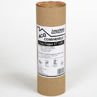 Amerimax 8506712 Valley Flashing, 12 in W x 20 ft L, 3 oz Copper