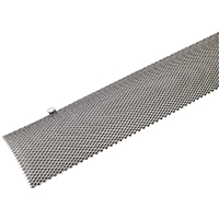 Amerimax GGGLK5 Hinged Gutter Guard, 5 in W X 3 ft L, For Use With Any Standard K Style Gutter
