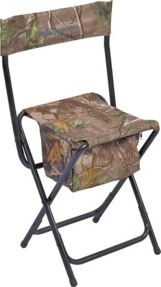 Realtree Xtra 3RG1A014 High Back Chair, Steel, Poly/Fabric, Green Camouflage