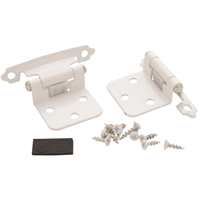 Amerock BP7139W Self-Closing Variable Overlay Semi-Concealed Cabinet Hinge, 5 Hole, 2-3/4 in L