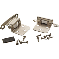 Amerock BP792926 Self-Closing Variable Overlay Cabinet Hinge, 5 Hole, 2-3/4 in L, Steel