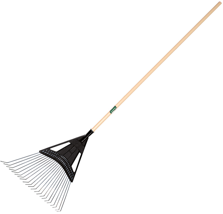 64025 20 IN. POLY STEEL LEAF RAKE