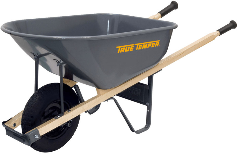 R6FF25 6CUFT FF WHEELBARROW