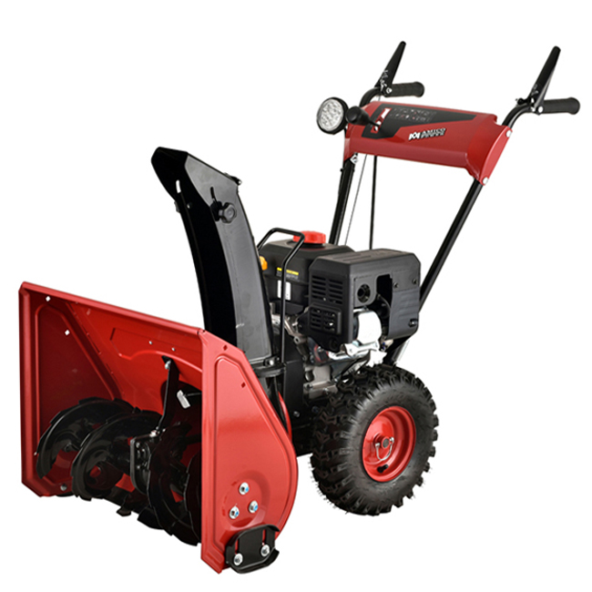 """24"""" 212cc Two-Stage Electric Start Gas Snow Blower/Snow Thrower"""