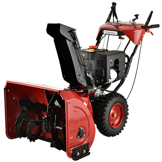 "Deluxe 30"" 302cc Two-Stage E-Start Gas Snow Blower/Snow Thrower with Auto-Turn Steering & Heated Grips"
