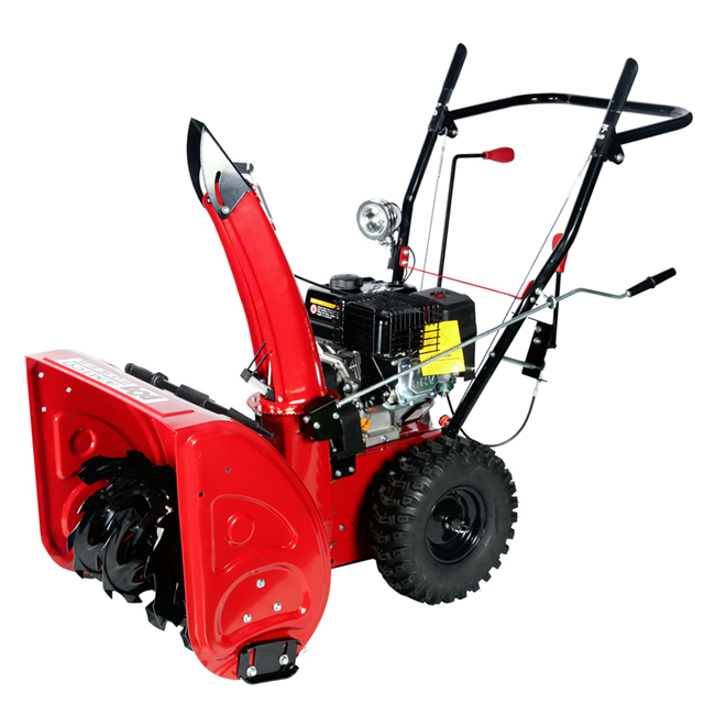 "24"" Gas Snow Blower/ Gear Transmission System"