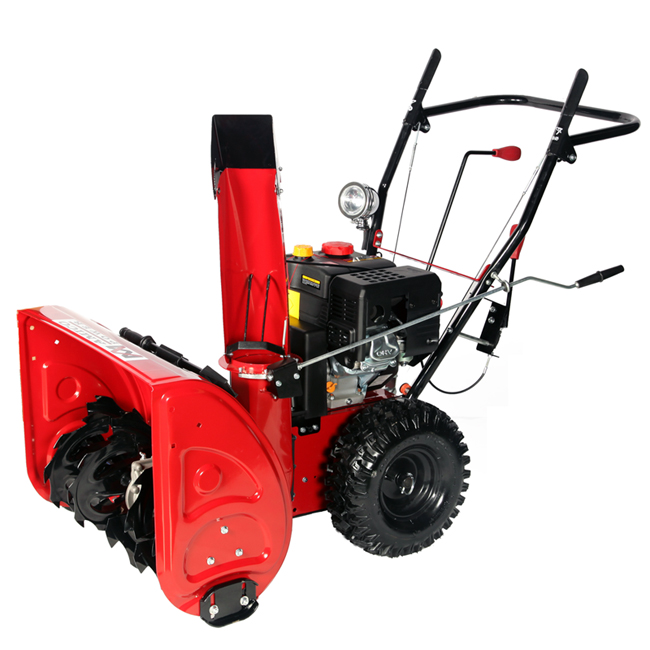 "26"" Gas Snow Blower/ Gear Transmission System"