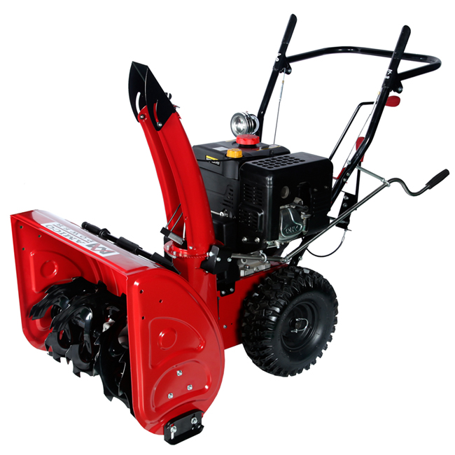 "28"" Gas Snow Blower/ Gear Transmission System"