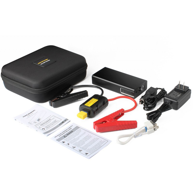 12000 mAh 12V Portable Car Jump Starter Booster Charger Battery Power Bank