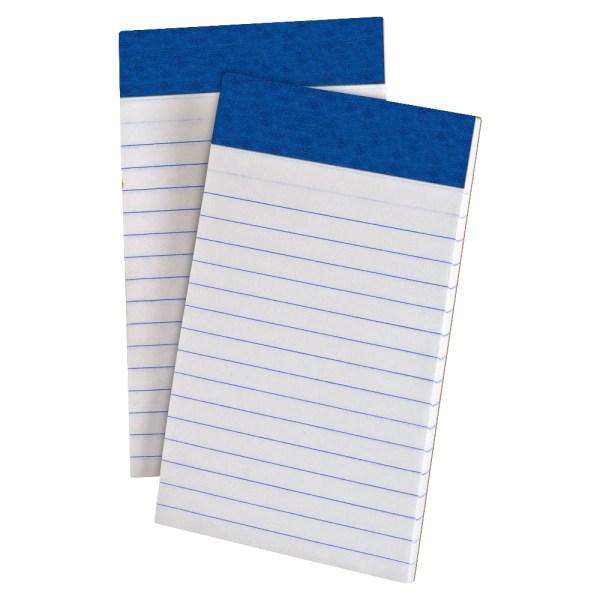 Perforated Writing Pad, Narrow, 3 x 5, White, 50 Sheets, Dozen
