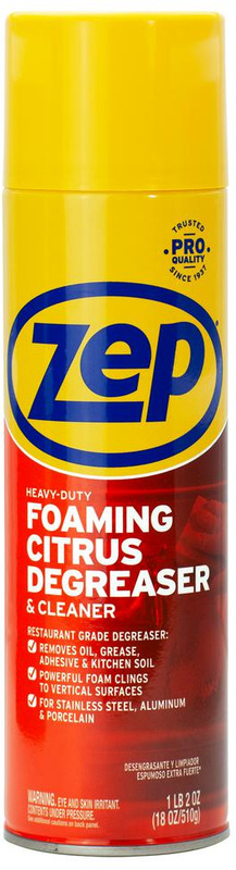 ZUHFD18 18OZ FOAM DEGREASER