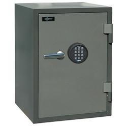 AMSEC IMPORTED U.L. LISTED 1HR FIRE SAFE, 1 SHELF, 1 KEY LOCKING DRAWER, E5LP ELECTRONIC LOCK