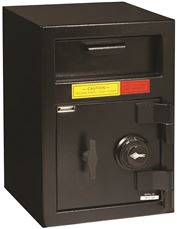 "AMSEC ""B"" RATE FRONT LOAD DEPOSITORY SAFE WITH COMBINATION LOCK"