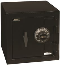 "AMSEC ""B"" RATE MINI SAFE WITH COMBINATION LOCK"