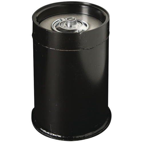 "Star® 13.5"" Round Lift-Out Door Tubular Body Floor Safe"