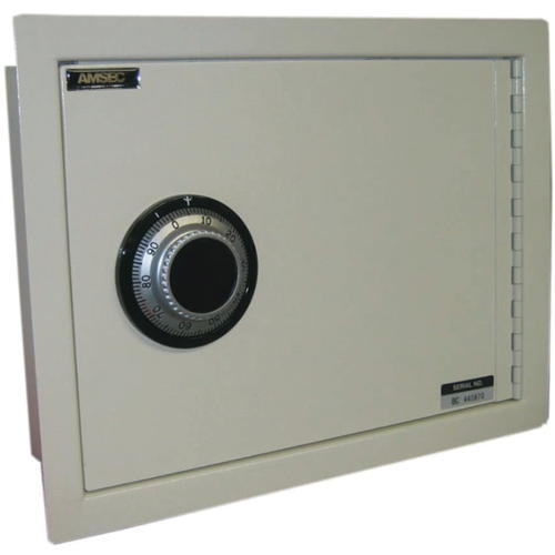 AMSEC WALL SAFE WITH U.L. GROUP 2 KEY CHANGEABLE COMBINATION