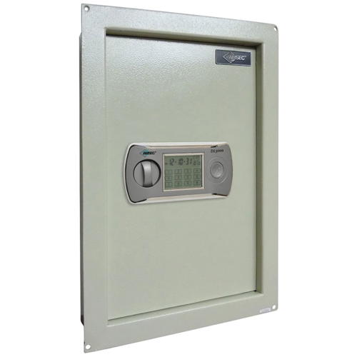 AMSEC WALL SAFE WITH ELECTRONIC LCD TOUCH SCREEN LOCK