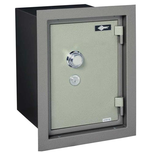 AMSEC WALL SAFE U.L. LIST 1HR FIRE RATING WITH COMBINATION LOCK