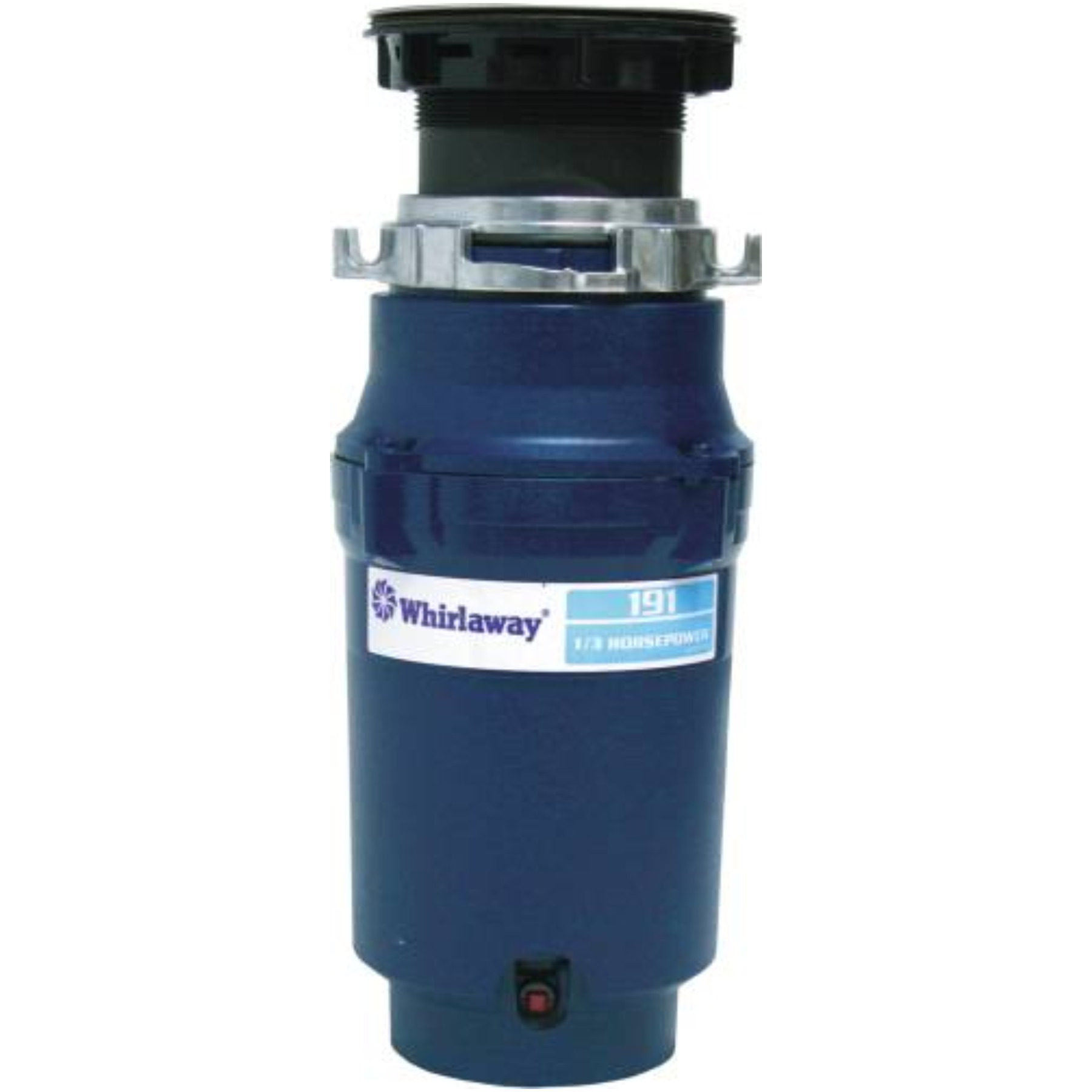 WHIRLAWAY GARBAGE DISPOSAL WITH PLUG 1/3 HP