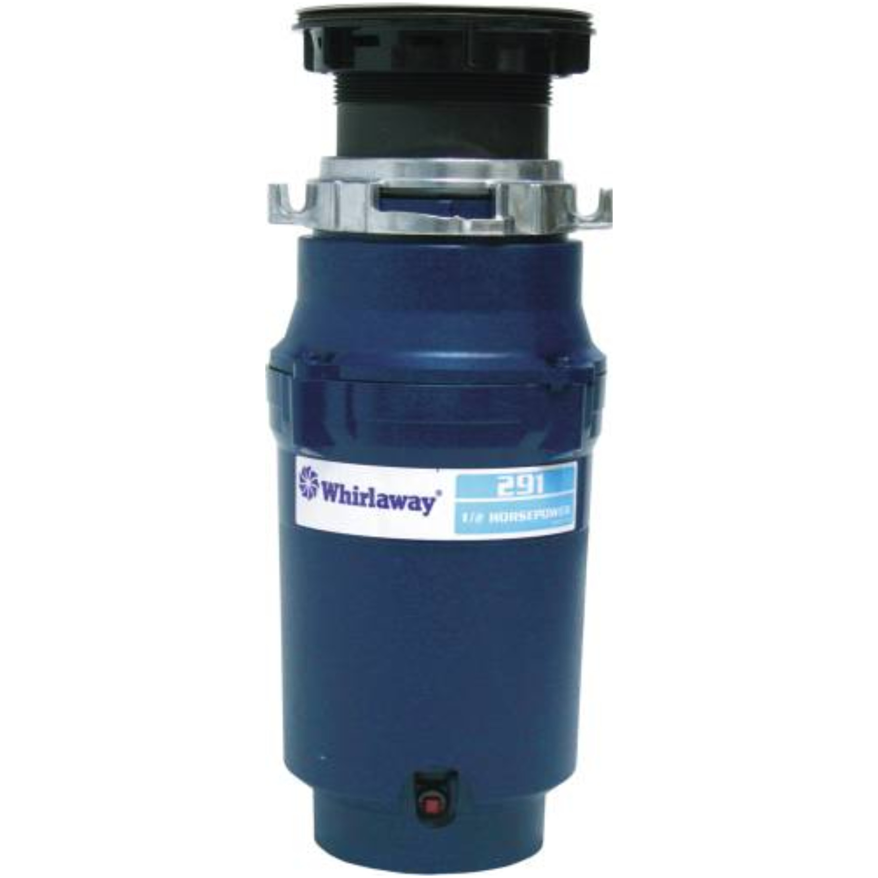 WHIRLAWAY GARBAGE DISPOSAL WITH PLUG 1/2 HP