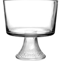 BOWL TRIFLE CLEAR GLASS MONACO