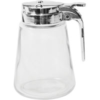Oneida 97287 Syrup Pitcher, 8 oz, Glass, Clear