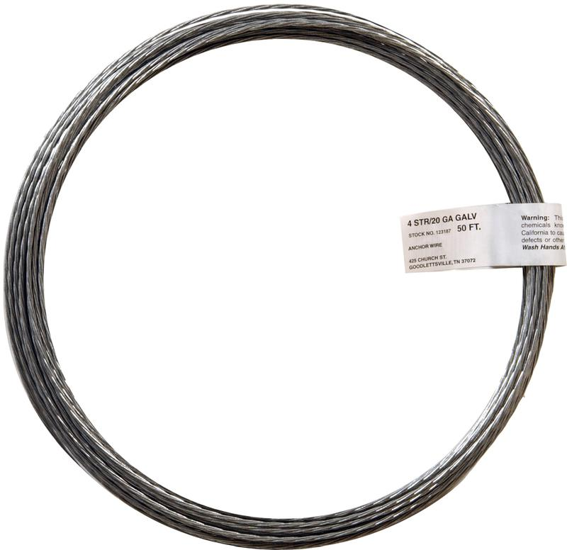 123187 20GA 50 FT. GLV STRND WIRE