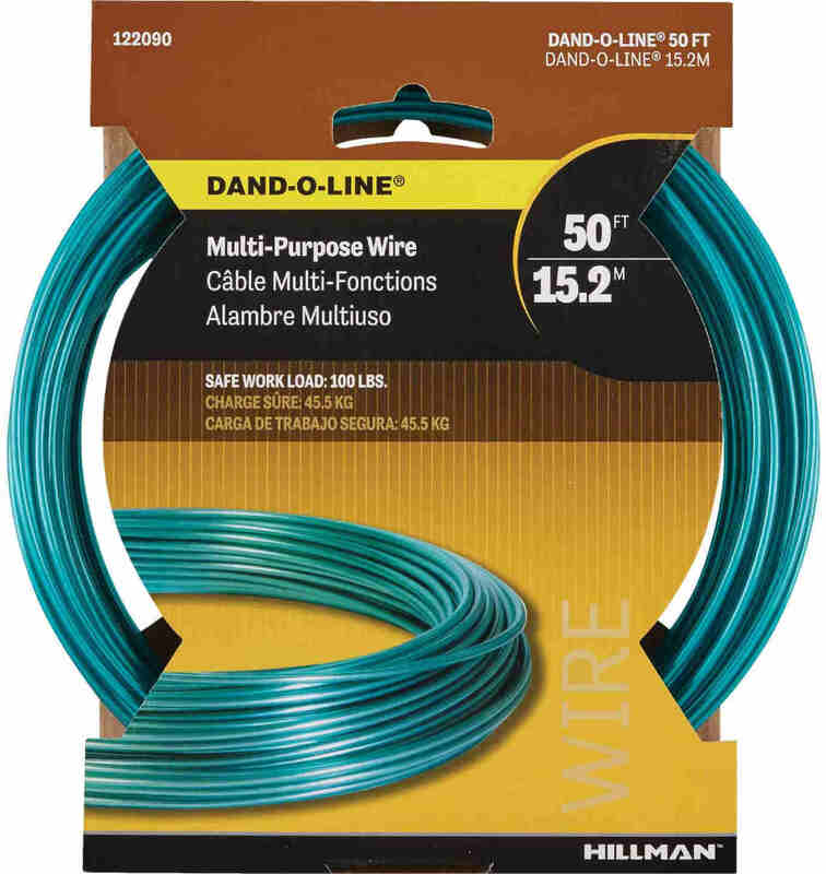 122090 50 FT. GR DAND-O-LINE WIRE
