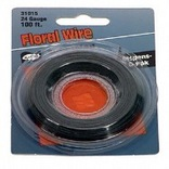 123108 24GA 100 FT. GR FLORL WIRE