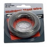 123114 19GA 30 FT. STAINLESS STEEL WIRE