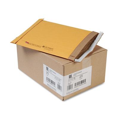 Jiffy Padded Self Seal Mailer, #4, 9 1/2 x 14 1/2, Natural Kraft, 25/Carton