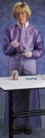 Ansell 2X Blue Vinyl Coat Apron 8mil