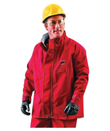 Ansell X-Large Red Sawyer-Tower CPC+ Polyester Trilaminate Gore+ Chemical Protection Jacket