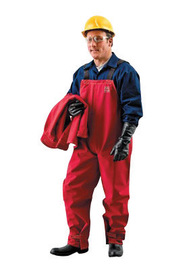 Ansell 2X Red Sawyer-Tower CPC+ Polyester Trilaminate Gore+ Chemical Protection Overalls