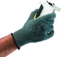 Ansell Size 7 Vantage+ 10 Gauge Medium Weight Kevlar+ Fiber Cut Resistant Gloves With 100% Kevlar+ Reinforced Thumb Crotch