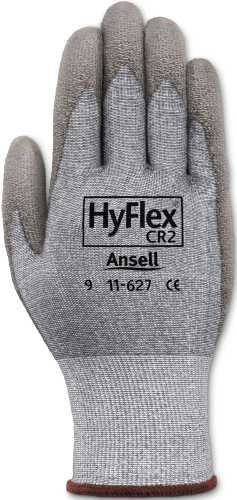 ANSELL HYFLEX CUT-RESISTANT GLOVES WITH DYNEEMA, SIZE 10