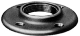 1-1/2 BLACK FLOOR FLANGE