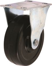 INDUSTRIAL RIDGID CASTER WITH BRAKE, 2-1/2 IN.
