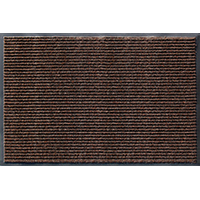Enviroback AP043-4076E Door Mat, 27 in L x 18 in W, Cocoa Brown