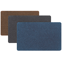 Tri-Rb AP015-4019G Floor Mat, 30 in L x 20 in W, Assorted