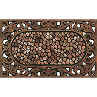 Masterpiece AP737-4133F Door Mat, 30 in L x 18 in W