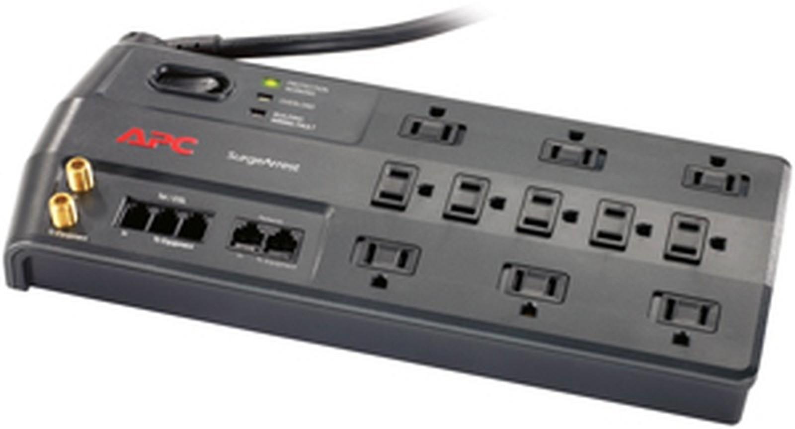 APC P11VNT3 11-Outlet Performance SurgeArrest Surge Protector (Telephone/Coaxial/Ethernet Protection)