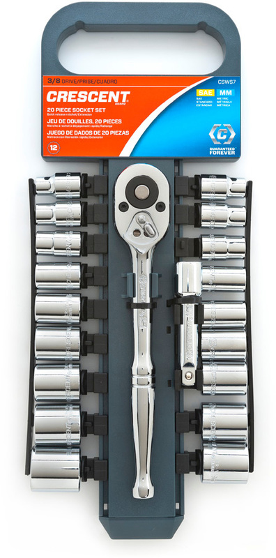 CSWS7N 20PC SAE/MM SOCKET SET
