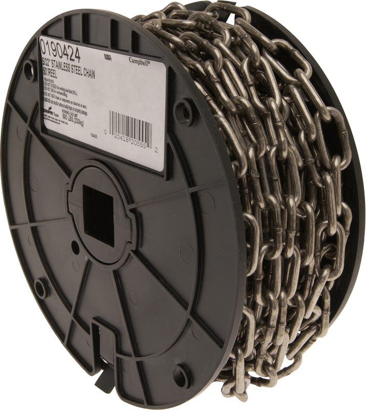 0190424 50 FT. REEL 5/32 IN. CHAIN