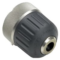 Jacobs 30354 Hand-Tite Drill Chuck, 3/8 in, Steel