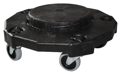 APPEAL FVP TRASH CAN DOLLY, BLACK